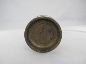 金澤銅器会社製 象嵌 双耳花瓶底面