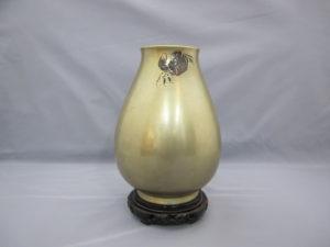 桂光春 蟹図花瓶その2
