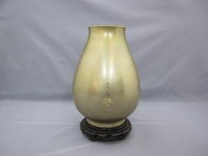 桂光春 蟹図花瓶その3