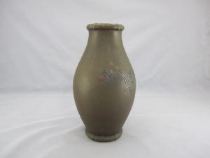 能川製 象嵌月下に松林図花瓶その3